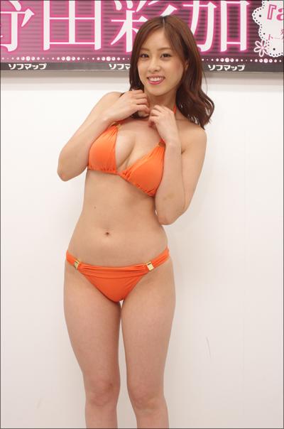 「現場でのポロリなんてかまってられません!」野田彩加、アラサーグラドルの覚悟が詰まった激アツな新作イメージ作!!の画像2