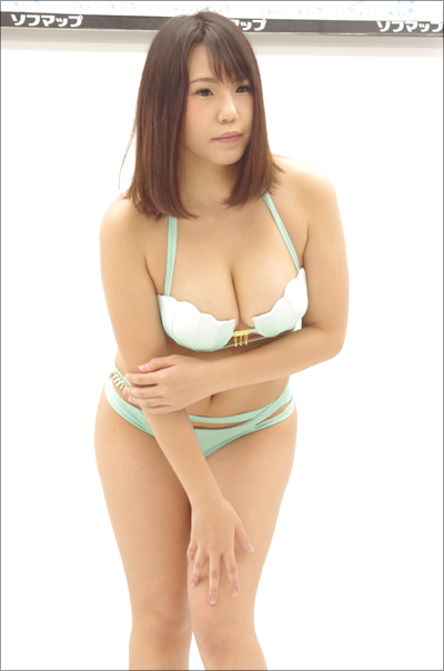 「童貞10人くらい殺せそう」Hカップ新人グラドル・一之瀬瞳、初イメージDVDでアノ衣装着用!の画像2