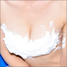 """木嶋のりこ、全裸よりもエロい""""泡ブラ""""でイベント開催! ポロリしたら即モザイク処理のドキドキ感!!"""