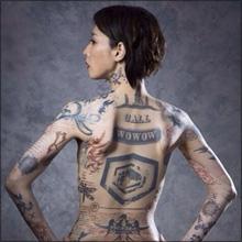 「美しすぎる」「セクシーさ倍増」鳥居みゆき、全身タトゥー姿にも絶賛の声!