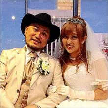 菊地亜美、ザコシショウとのウェディングショットにファン困惑…お騒がせぶりは相変わらず!?