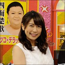 「胸のカタチ丸わかり!」 テレ朝・青山愛アナ、バドガールみたいな着衣巨乳で話題に