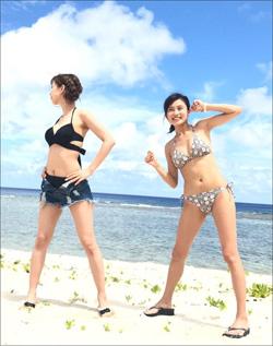 小島瑠璃子、美巨乳揺らしてグアムで大はしゃぎ! 期待通りのビキニショットにファン歓喜の画像1
