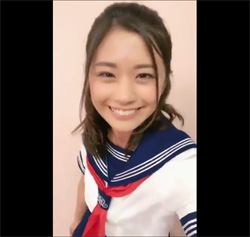 安枝瞳、初々しいセーラー服動画でファンを刺激! グラビア復帰を願う声もの画像1