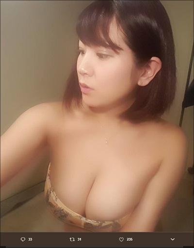 【SNSセクシー】モーレツ爆乳ショット!の画像1