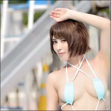 """「日本一美しいおっぱい」金子智美、ギリギリショットで""""まん丸乳""""を猛アピール!"""