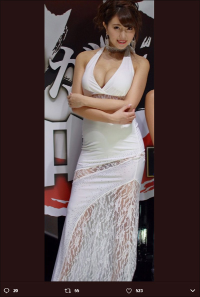 【SNSセクシー】イベントを盛り上げる華やかな美女たちの画像3