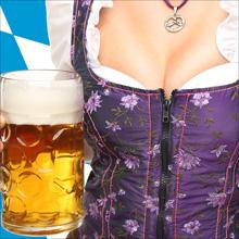 【エロ体験談】久々のハプバーでビールを豪快に飲む巨乳美女を発見! 乾杯後、すぐに完敗…