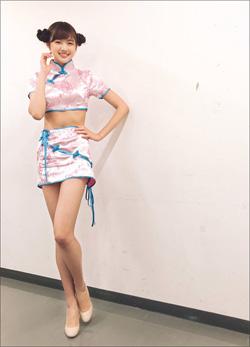 9頭身モデル・熊江琉唯、パンツ見られて激おこ! 相変わらずの美脚には絶賛コメント続出の画像1