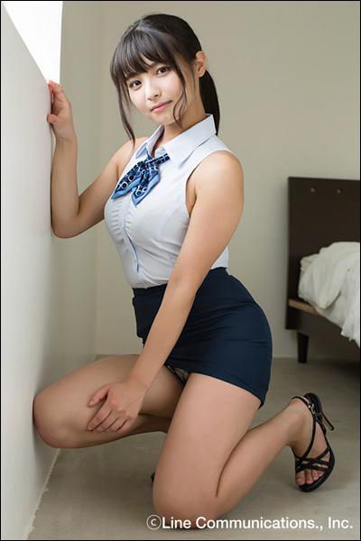 「下乳天使」片岡沙耶、久々のDVDでミラクル美巨乳炸裂! 刺激的なおもてなしで男を翻弄の画像2