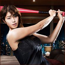 稲村亜美、ネグリジェ姿で「セクシーすぎる神スイング」披露! むっちり化で男性ファン魅了