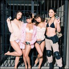 倉持由香、鈴木咲、青山ひかる、菜乃花がビキニで豪華競演! イチャイチャ撮影会でセクシーショット披露