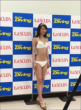 規格外の驚愕くびれボディ! 現役女子大生・鈴菜、水着グラビア解禁で男性人気が急上昇中の画像1