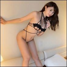 森咲智美、正真正銘の限界ギリギリ露出! 過激ヒモ衣装をまとった最新イメージ作に期待ふくらむ