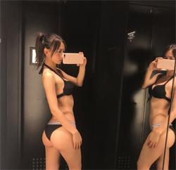 「最強プリケツのハーフ美女」宮河マヤ、鍛えぬいた美尻で男性人気が急上昇の画像1
