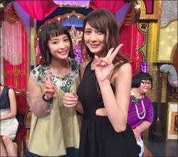 広瀬すず大興奮! ドール系美少女・アンジェラ芽衣、初テレビで美貌を見せつけるの画像1