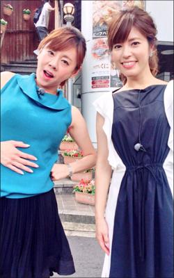 「肉より胸のほうがボリューミー」 高橋真麻、グルメロケで爆乳揺れまくり!の画像1