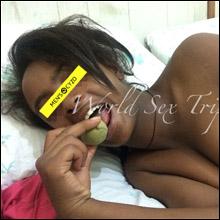 【世界一周エロ旅】ナンパしたロリ巨乳の18歳エチオピア人女子をハメ撮り
