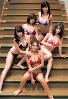 イエローキャブ軍団の再来! 森咲智美・橋本梨菜ら「R・I・P GIRLS」が男性読者を悩殺の画像1