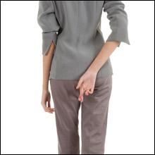 """オフィス系風俗店ではレアな衣装? """"意外にエロい""""パンツスーツ"""