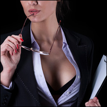 【エロ体験談】出会いカフェで上司の秘書を発見! ホテルに誘うと、まさかの濃厚中出しエッチ
