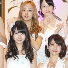 小柄・巨乳・握手超人気の無名メンバーが8位に!!  AKB48総選挙速報に驚き