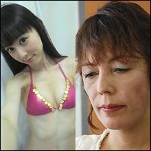 オシリーナ「激ヤセ」&林葉直子「老化?」激変する女たち