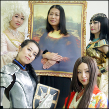 目標は園遊会&人間国宝! 女優5人の異色コントユニット『教科書ファイブン』